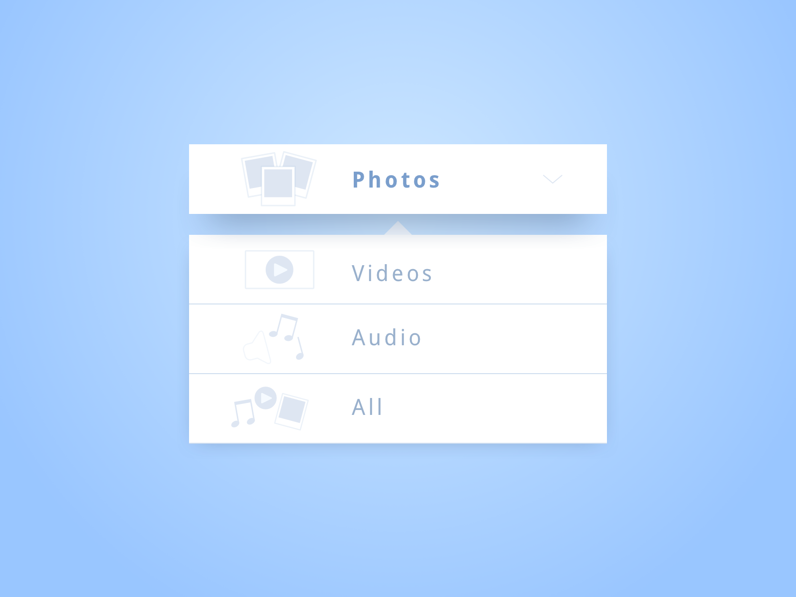 Daily UI #027—Dropdown
