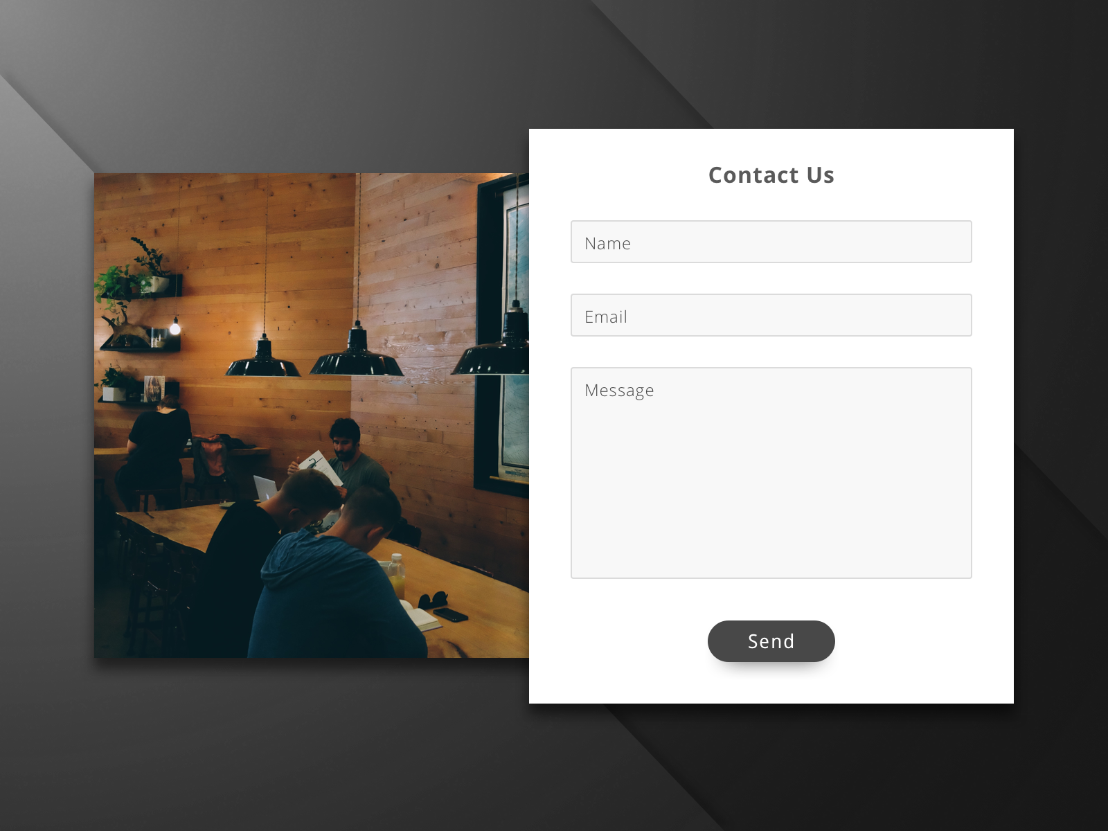 Daily UI #028—Contact Us