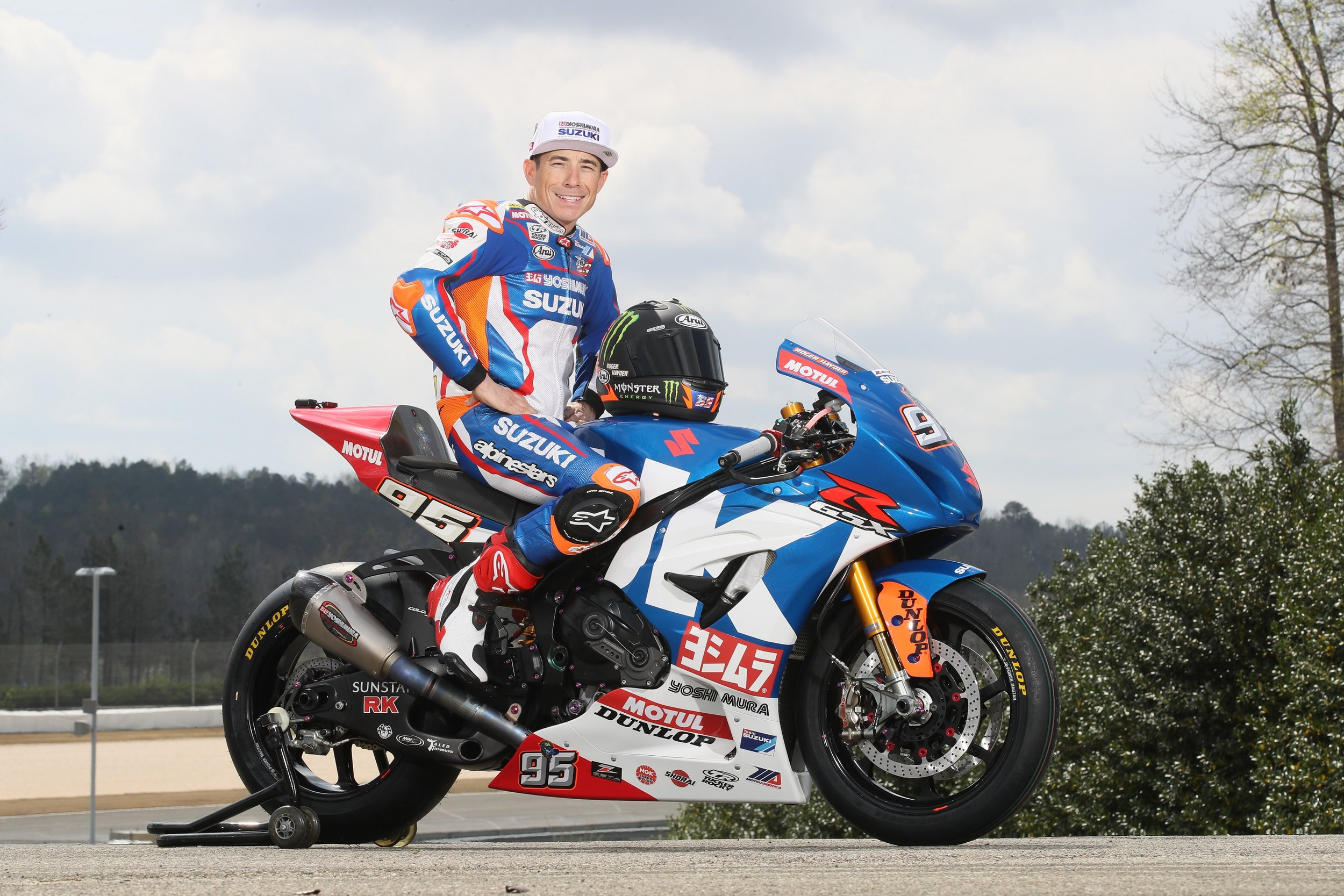Roger Hayden was the MotoAmerica Superbike Superpole master in 2017, winning a series-leading seven Superpoles, in addition to his three race wins. Hayden was also a title contender all year. This year the popular Kentuckian is hoping to lift the championship trophy at the end of the 2018 season. (Brian J. Nelson photo)