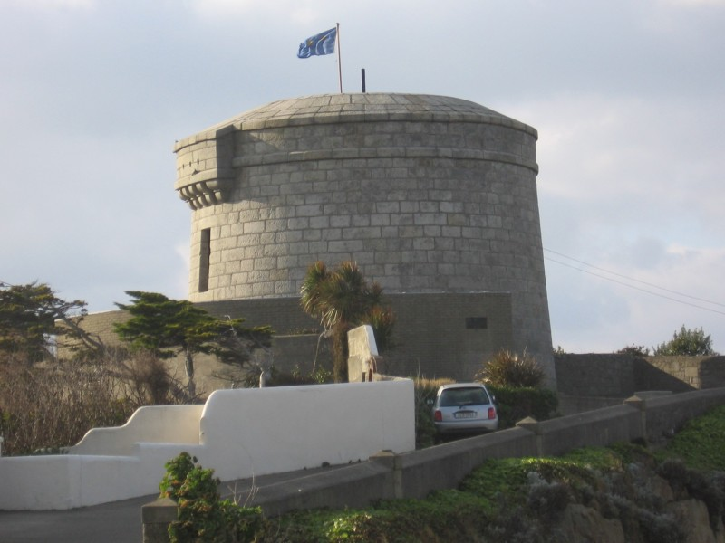 The Martello Tower in Sandycove