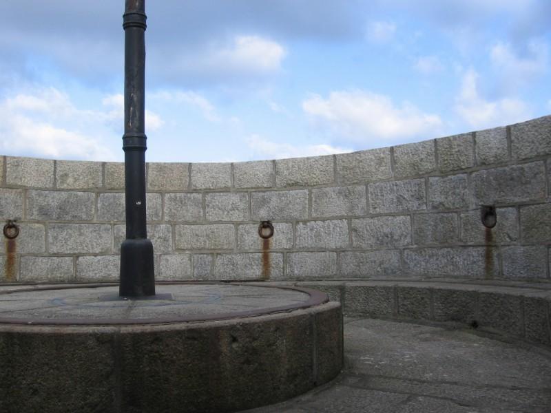 The parapet of Martello Tower, where Buck begins the novel.