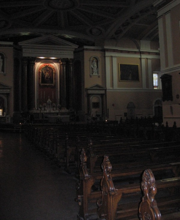 Inside All Hallows Church