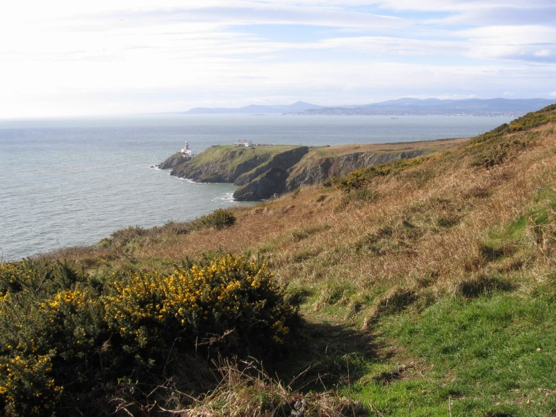 The Bailey Lighthouse on Howth promontory