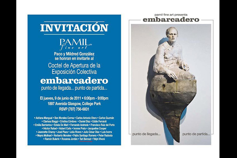Embarcadero. Pamil Fine Art Gallery, San Juan, Puerto Rico, 2011