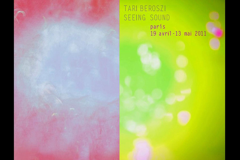 Seeing Sound | Solo Show.Galerie Spéos, Paris, France, 2011