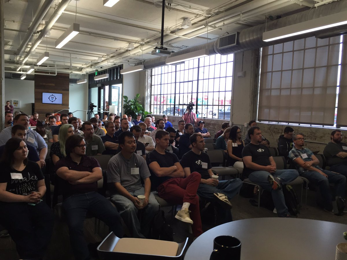 200 OK - 121 attendees and speakers