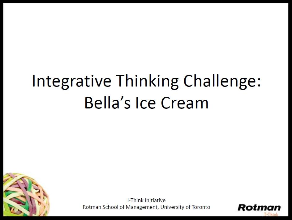 Bella's Ice Cream Challenge Slides