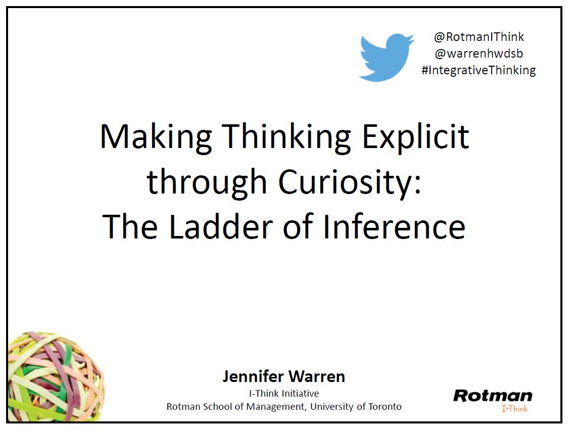 Download  Making Thinking Explicit through Curiosity  slides.