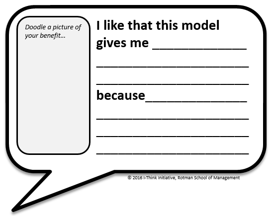 Download the  Benefit Bubble  workshop material.
