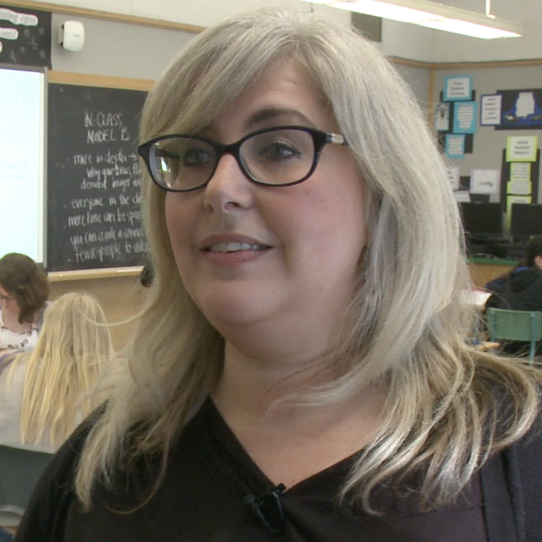 Jennifer Warren, Grade 9-12 Teacher -