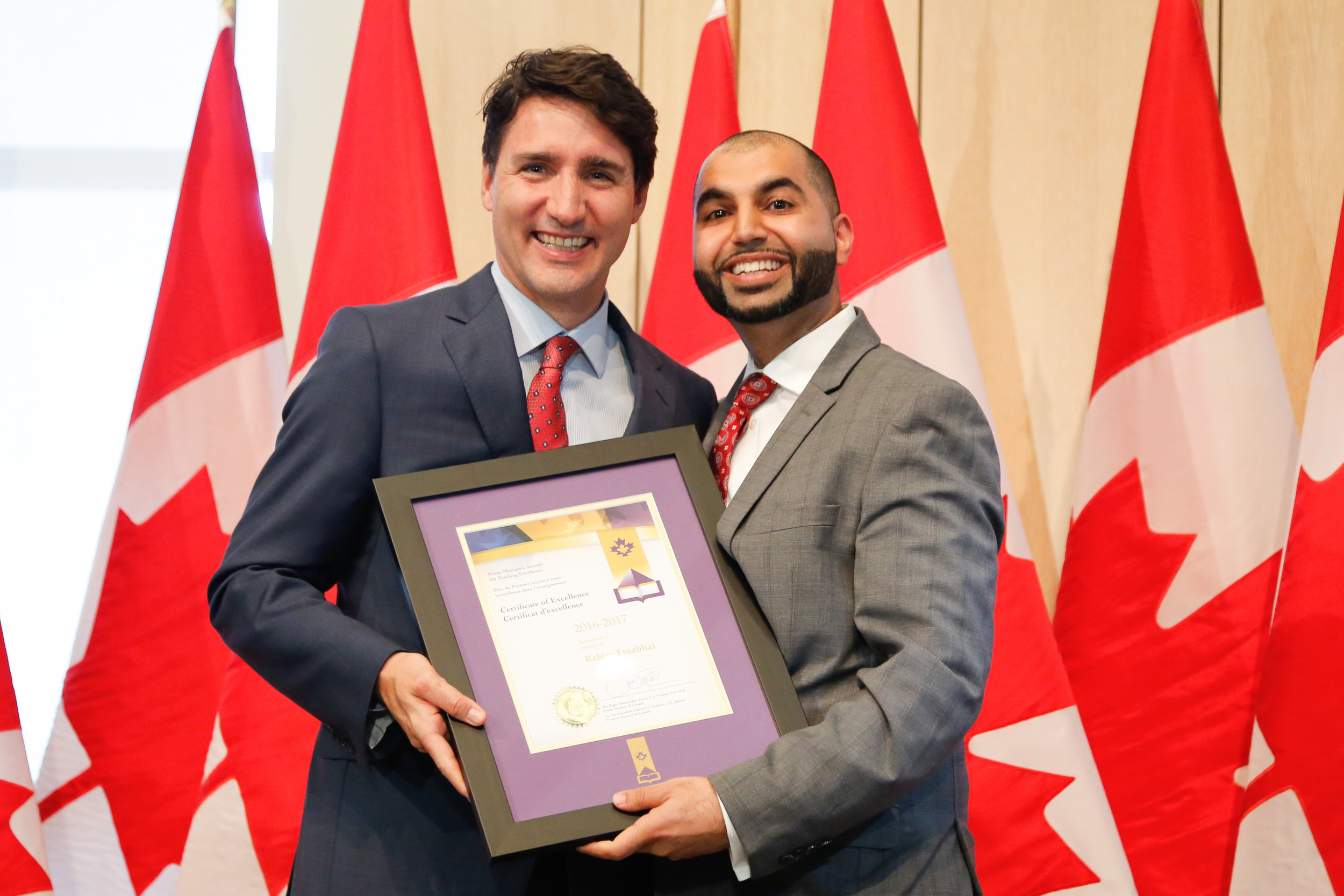 This program is co-facilitated with Rahim Essabhai. Rahim is a grade 12 Business Leadership teacher in the Toronto District School Board. In his course, students spend 6-8 weeks consulting to an organization using Integrative Thinking. Rahim won the 2016 Prime Minister's Award for Teaching Excellence for this work.   You can see his students' work on Twitter @mressabhai.