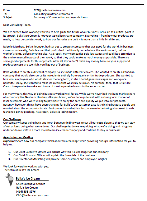 Download the company memo here. -