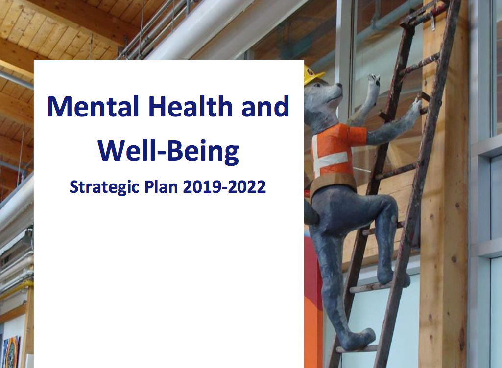 KCDSB — Mental Health & Well-being Strategic Plan -