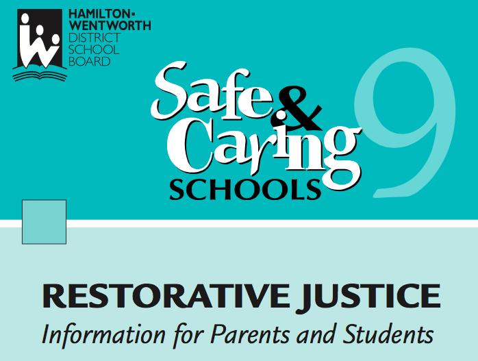 HWDSB — Restorative Justice Information -