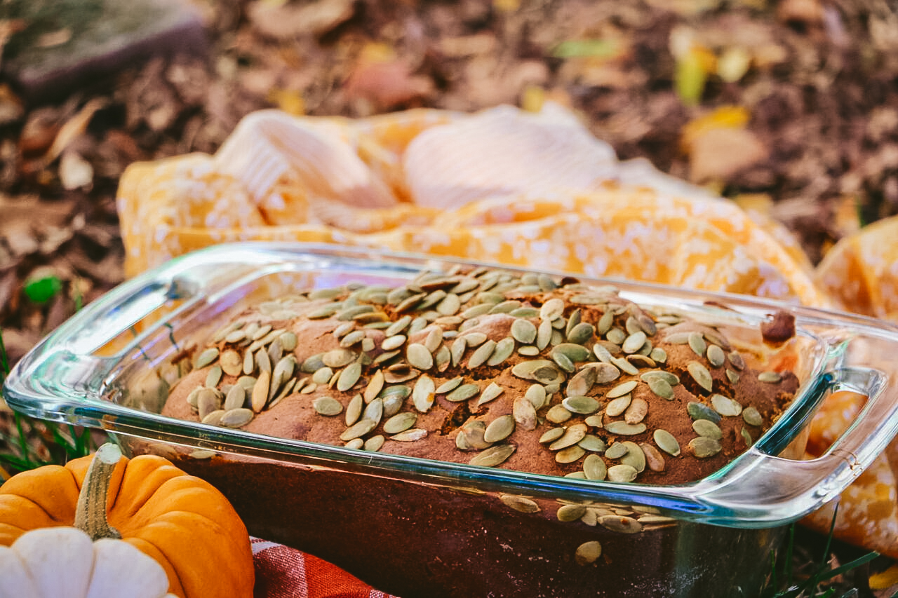 Pumpkin, Apple and Cinnamon Harvest Bread