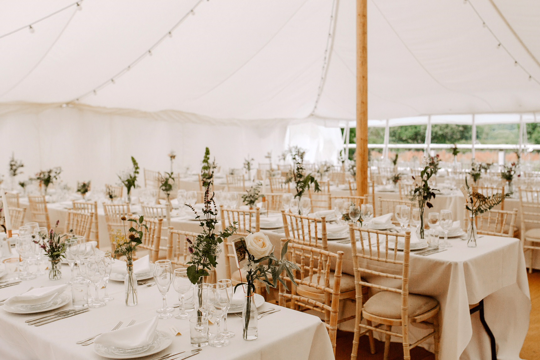 Unusual floral decorations marquee.jpg
