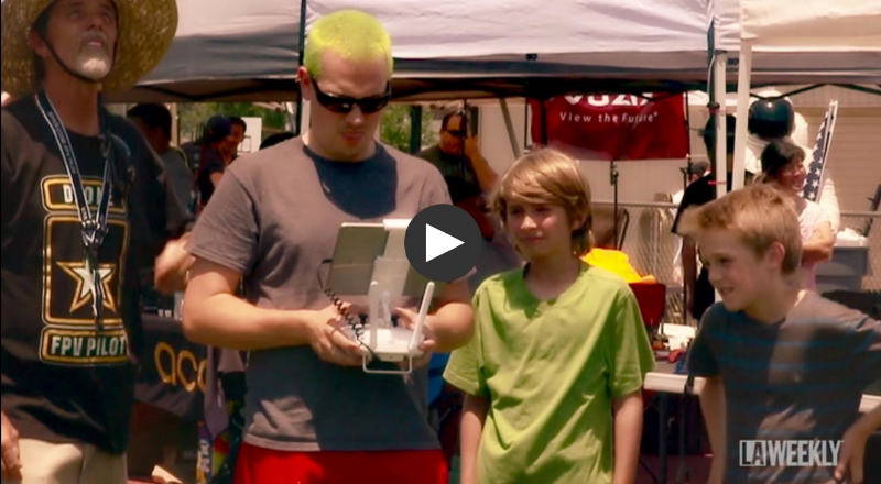 Pilots aged 10 to 68 competed in the LAFPV // FPV Aces Los Angeles Drone Nationals Qualifier powered by Drone Squad