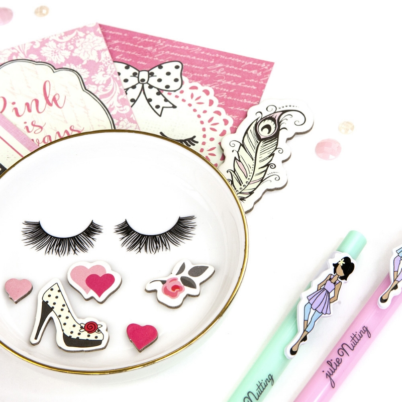 Julie's new line is simply delightful! From new papers, pens, ephemera, stamps, dies, and stickers...you are sure to find something that suits your fancy!