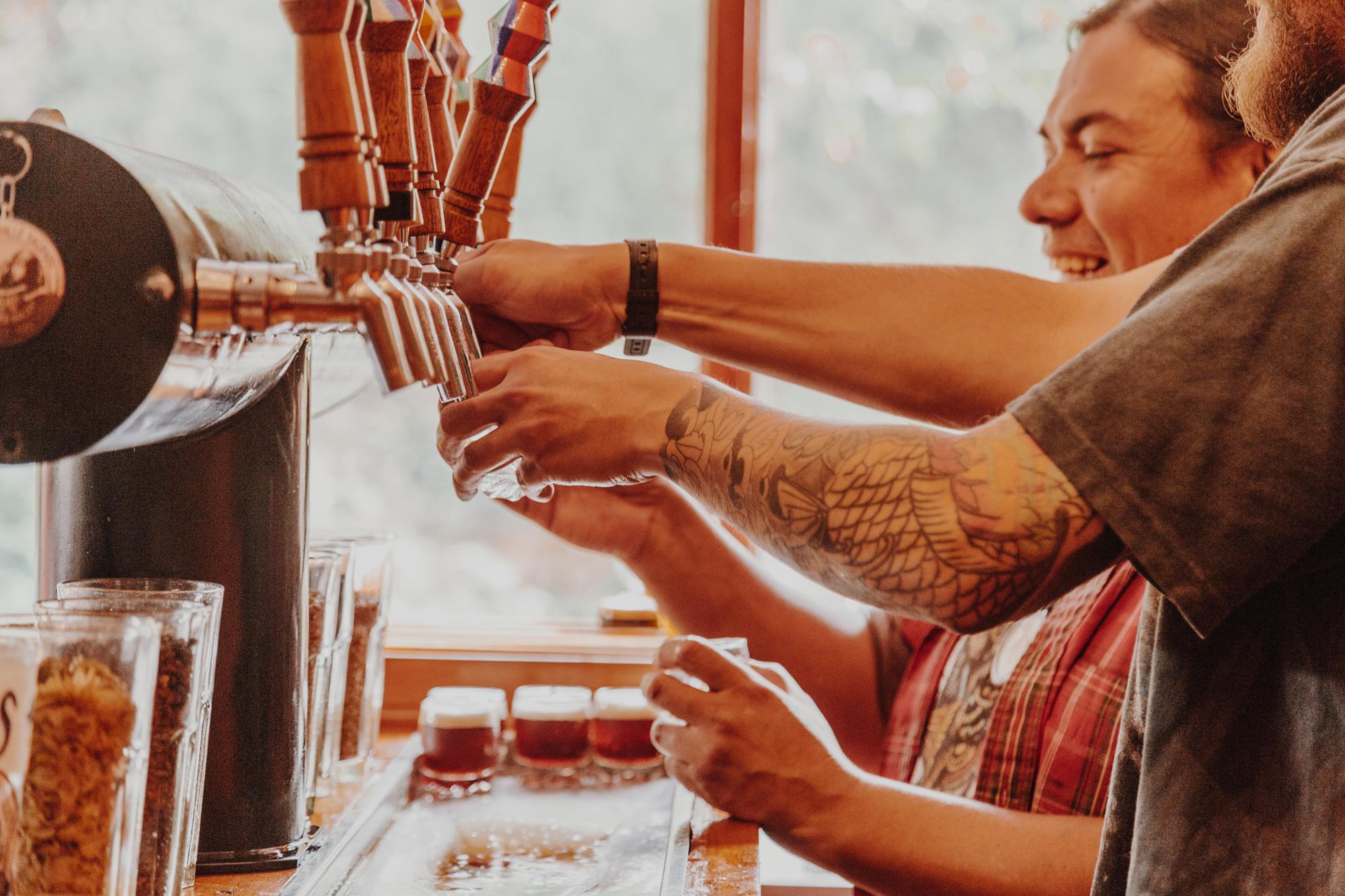 Peruvian Artisanal brewery www.thetipsygypsies.net