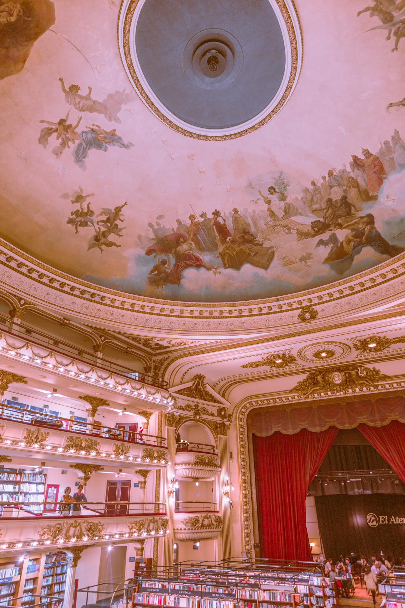 El Ateneo, Bookstore Buenos Aires