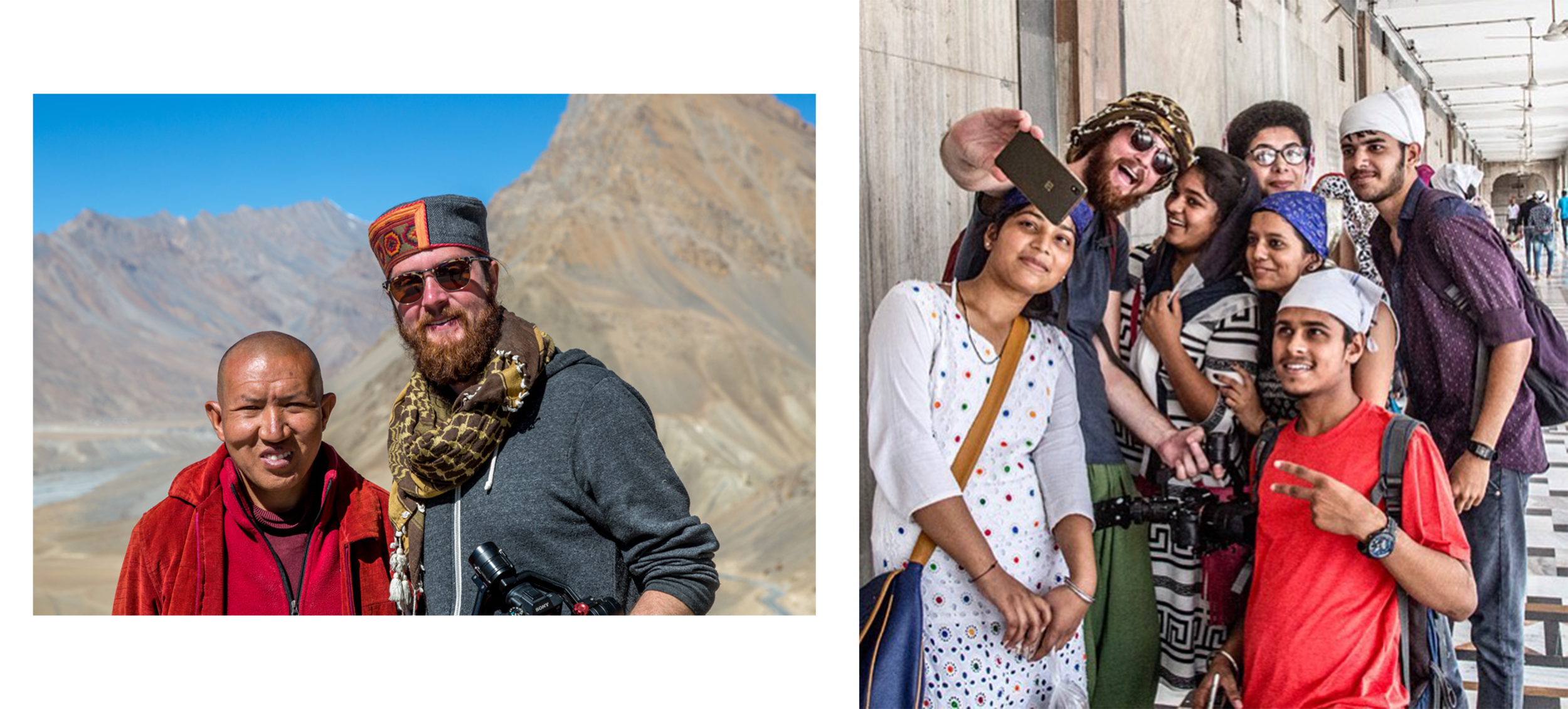 Making travel films brings you closer to the people and places you visit.