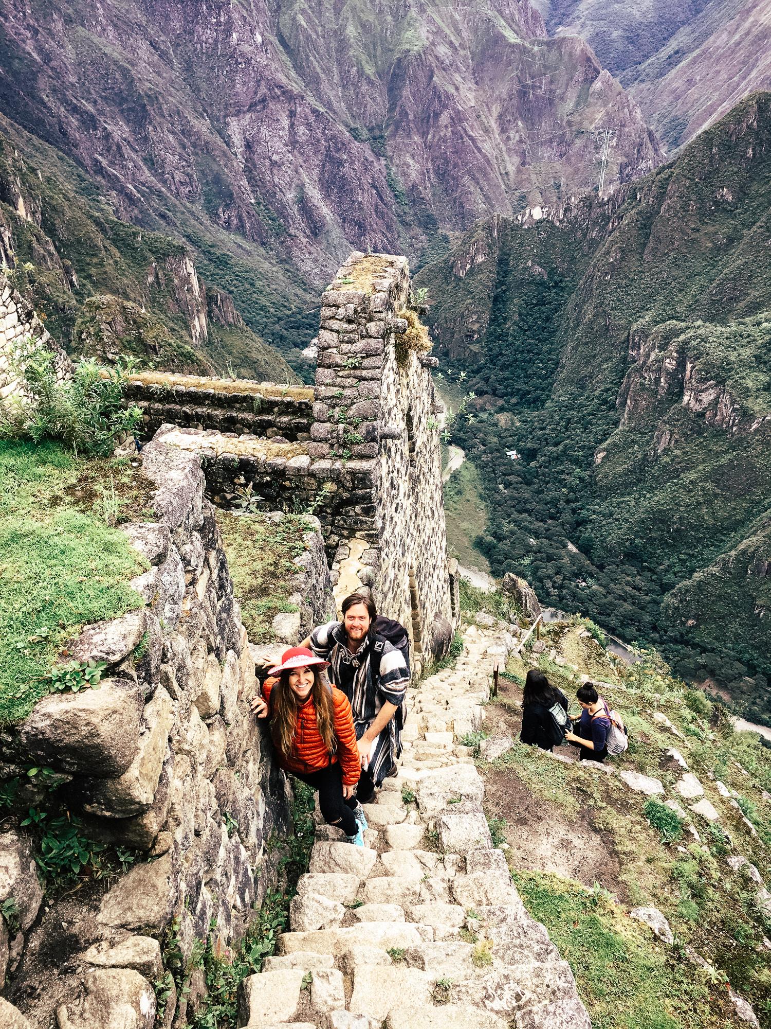 Hiking Machu Pichu