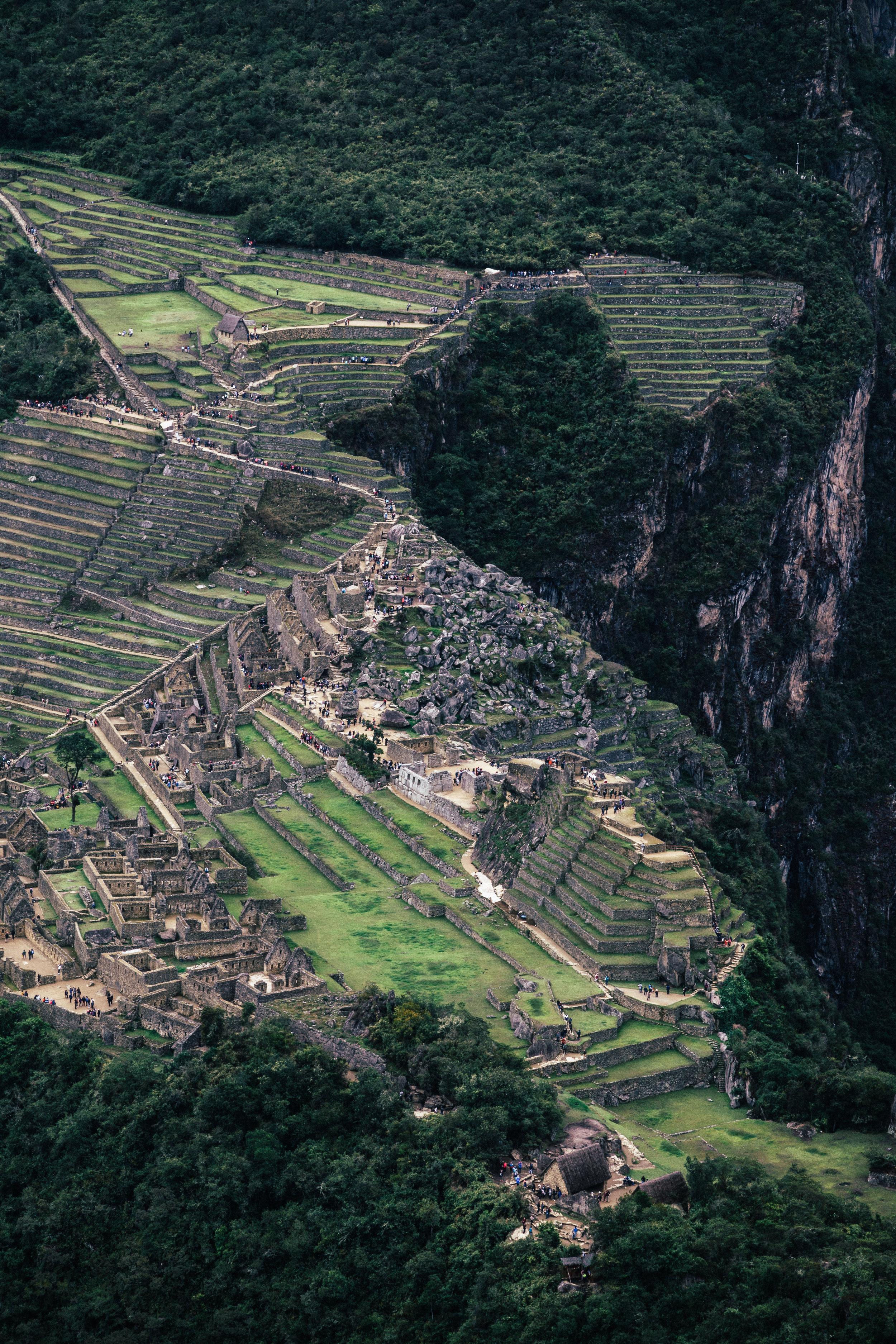 Machu Picchu Site View
