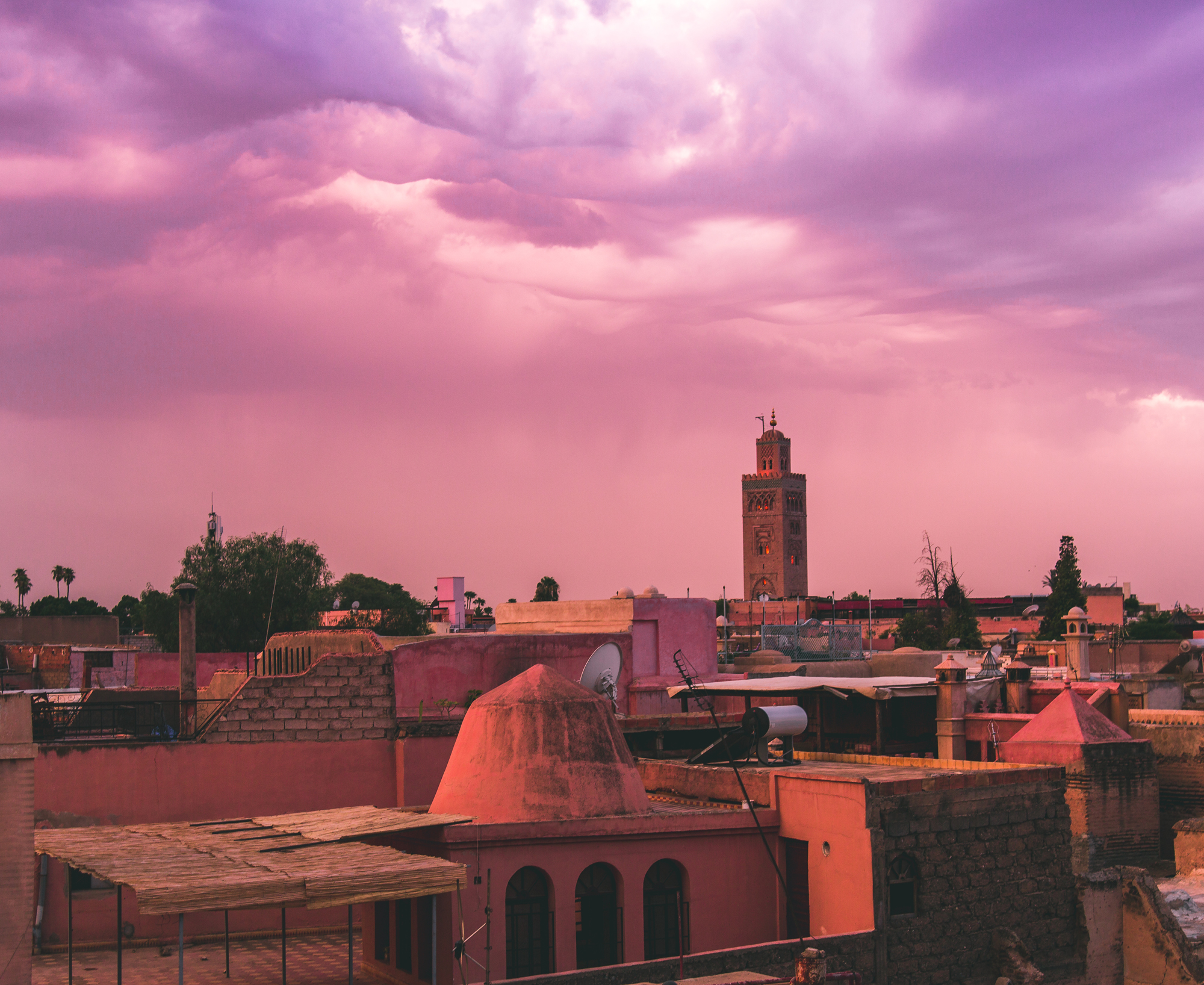 Marrakech sunset