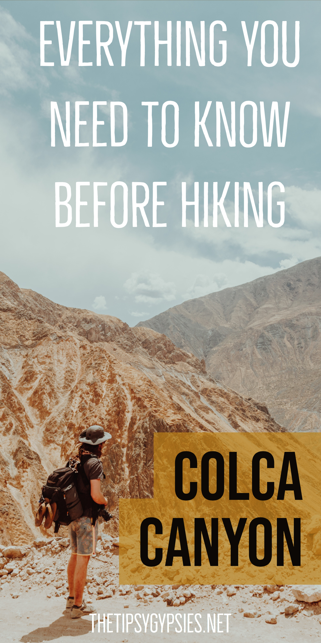 Hiking Colca Canyon in Peru