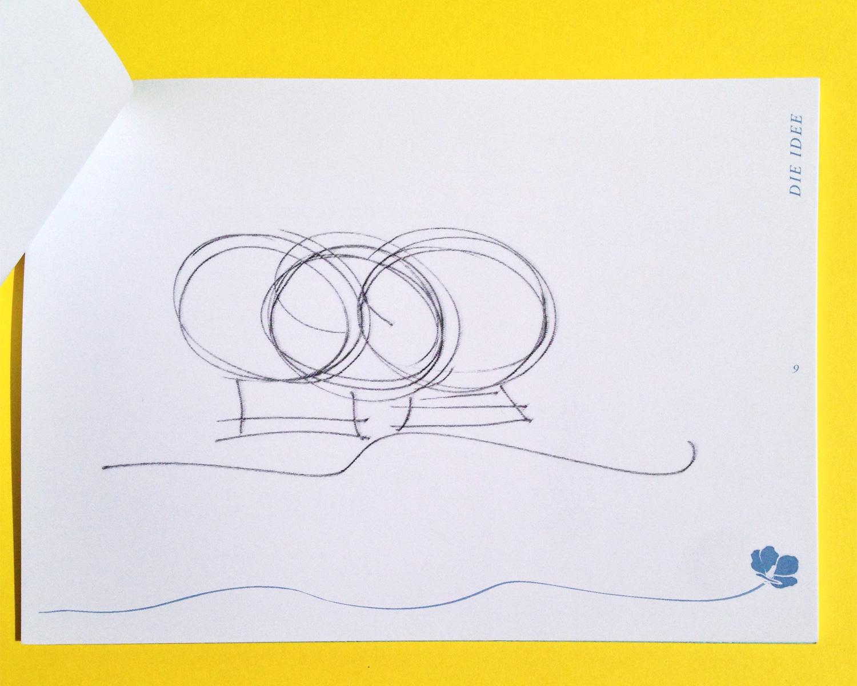 House O3, Temporary Architecture, Brand Design, Editorial Presentation, Booklet, Idea,