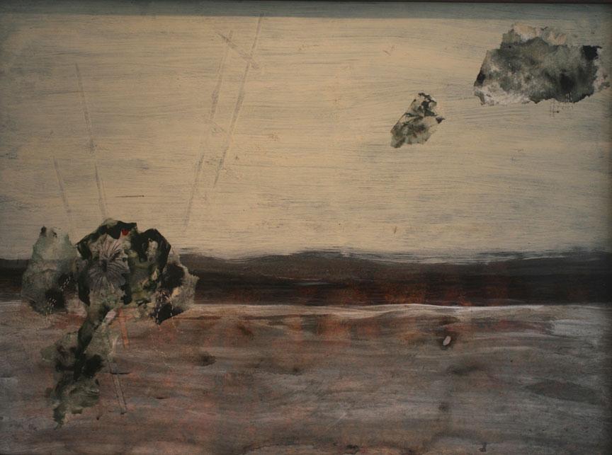 """Desert Bloom.   30"""" x 22"""", 2013."""