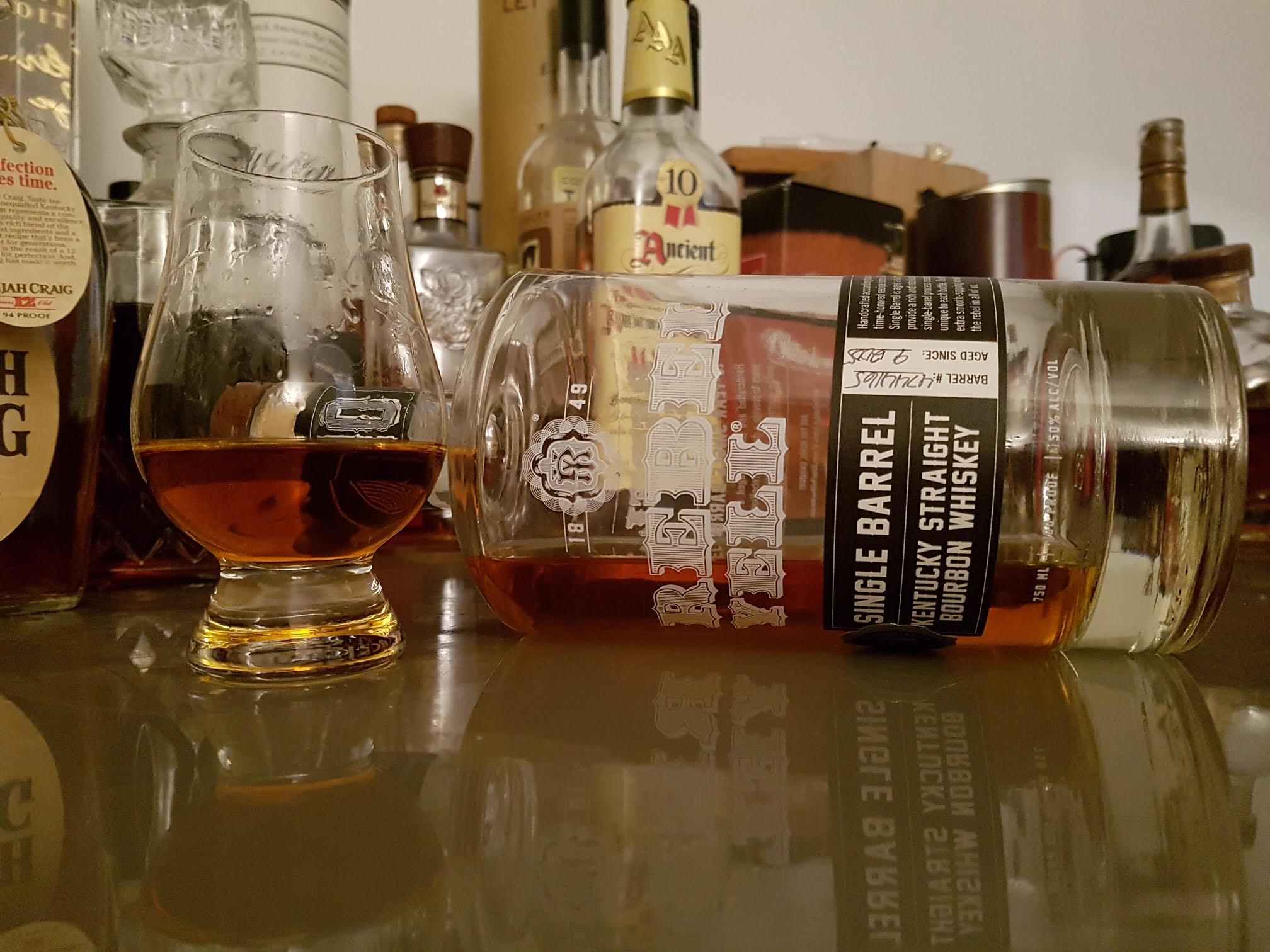 Rebel Yell Single Barrel British Bourbon Society