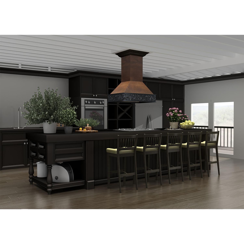 Wooden Crafted Island 9373ar Zline Kitchen