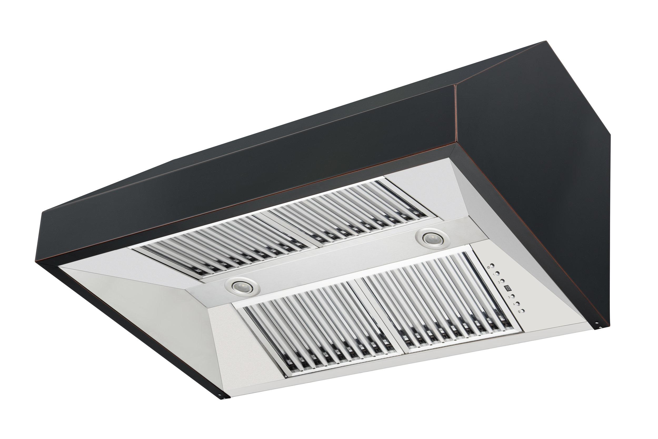 zline-black-under-cabinet-range-hood-8685B-side-under-vents.jpg