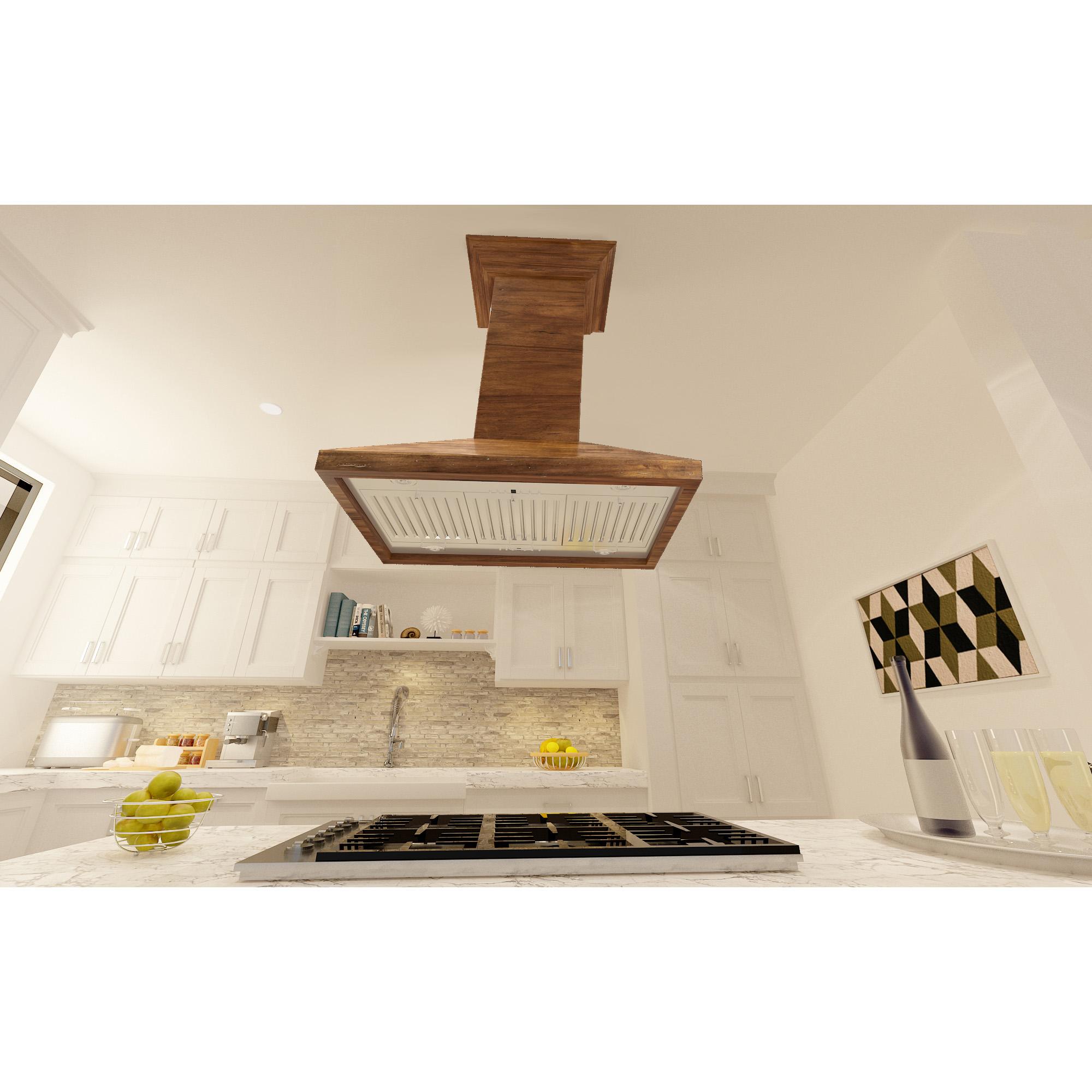 Wooden Crafted Kbirr Zline Kitchen