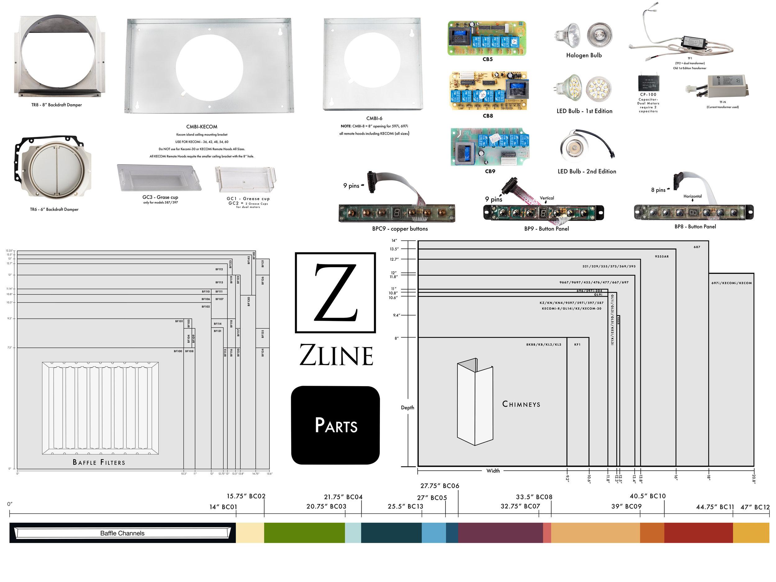 Parts Zline Kitchen