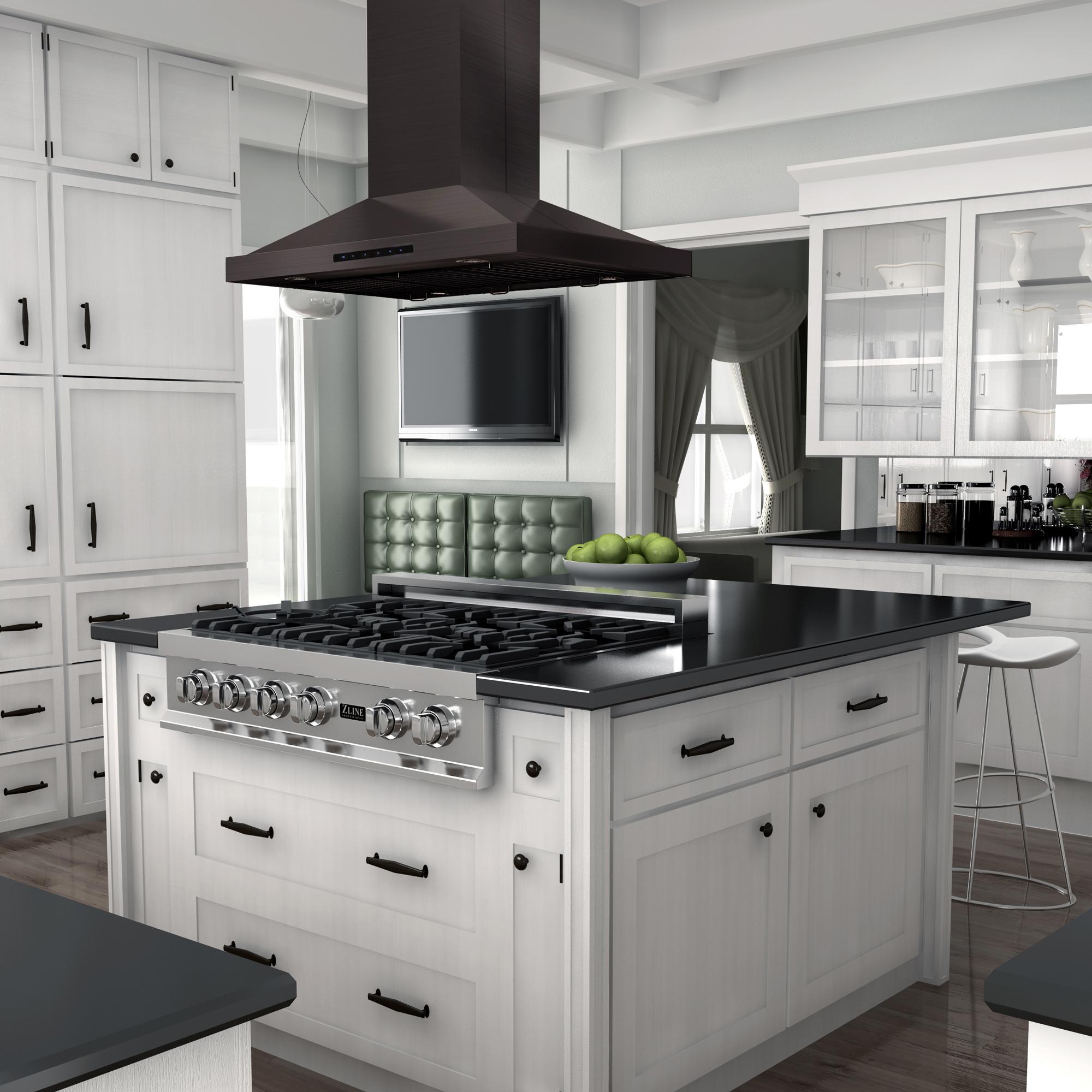 Black Stainless Island BSGL2iN — ZLINE Kitchen