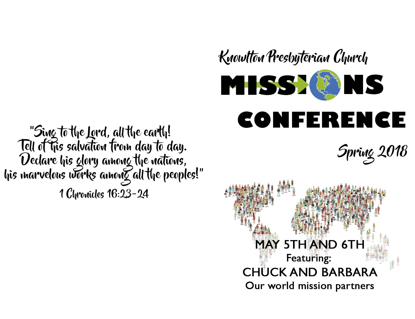 Saturday May 5th - Sunday May 6th