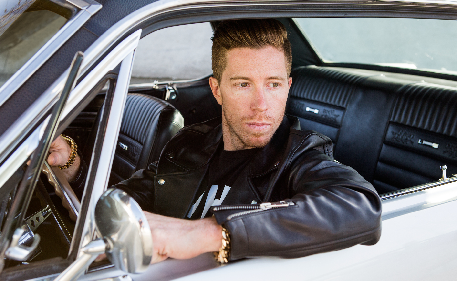 Shaun White in WHT SPACE mens clothing