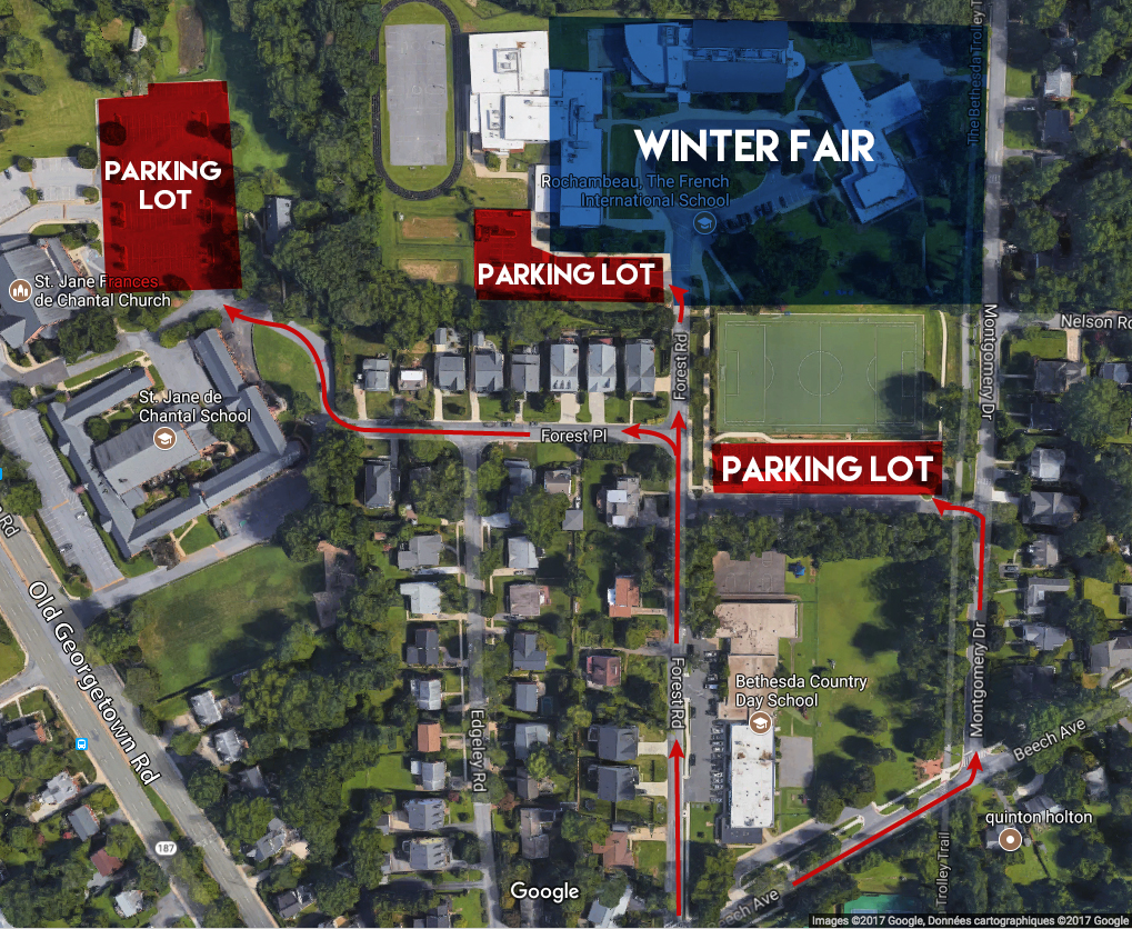 Parking Info - Welcome to our neighborhood!