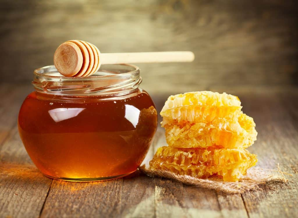 Jed's Honey - Straight from the hive honey that is locally harvested.