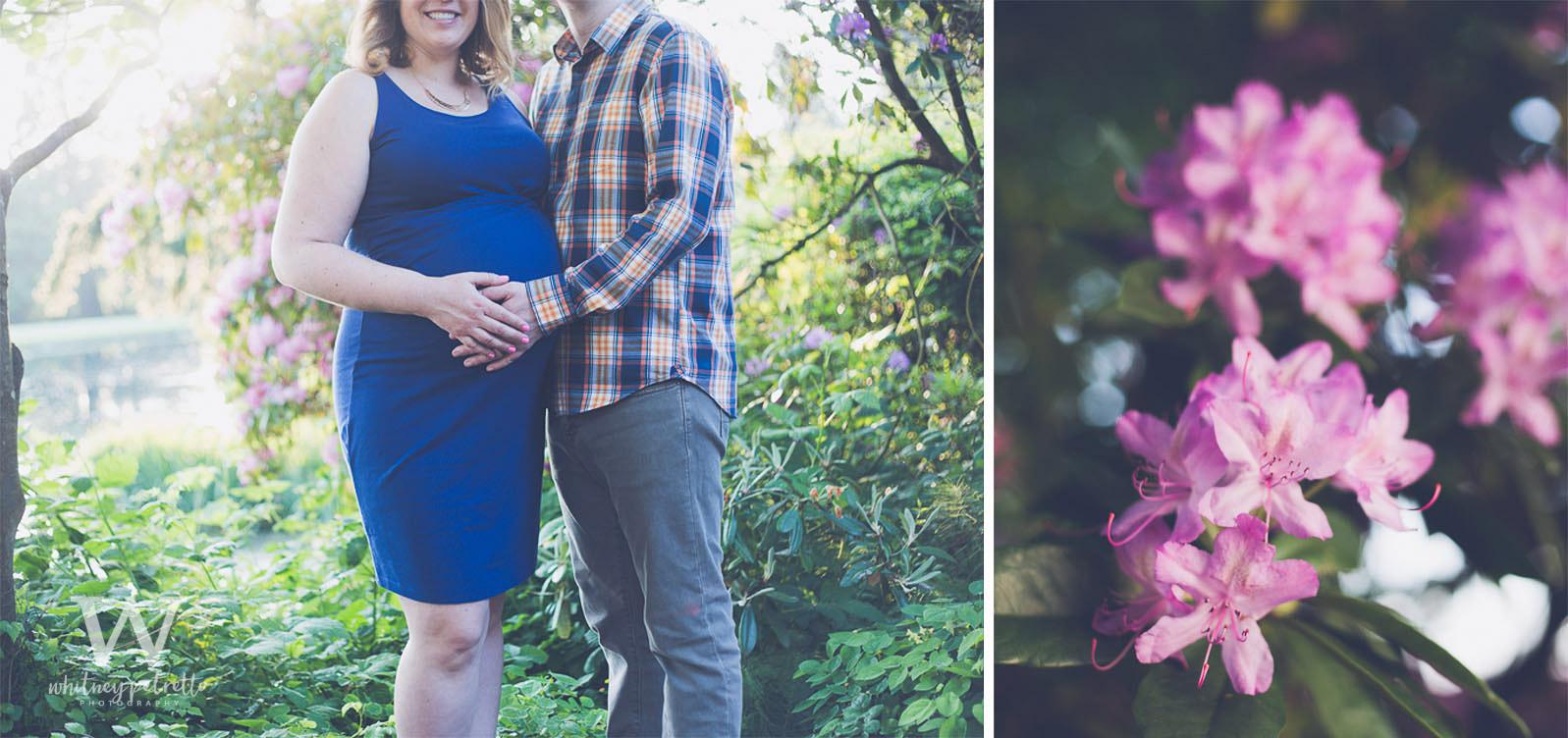 Kourtney & Adam | Maternity Photography | Family Photography | Portland, OR | Whitney Petretto Photography