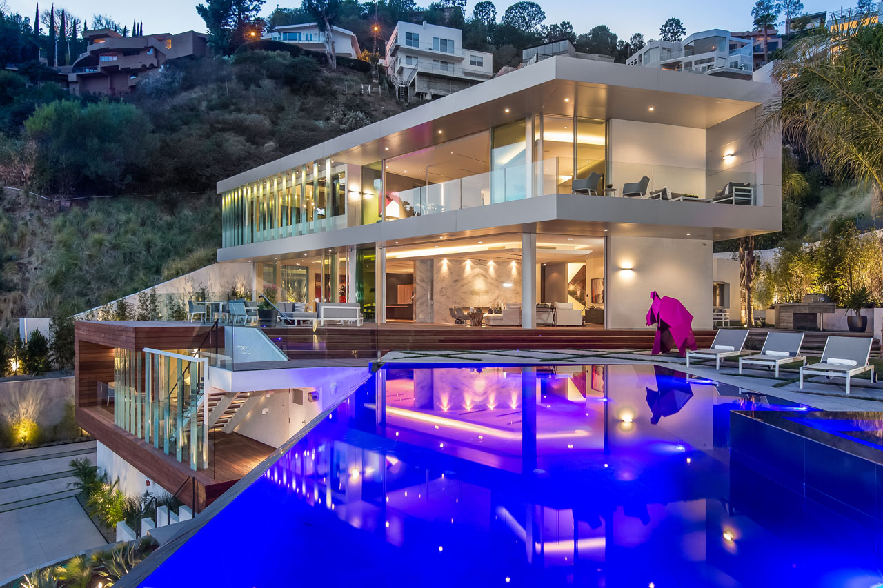 Rising Glenn Residence, LA, CA
