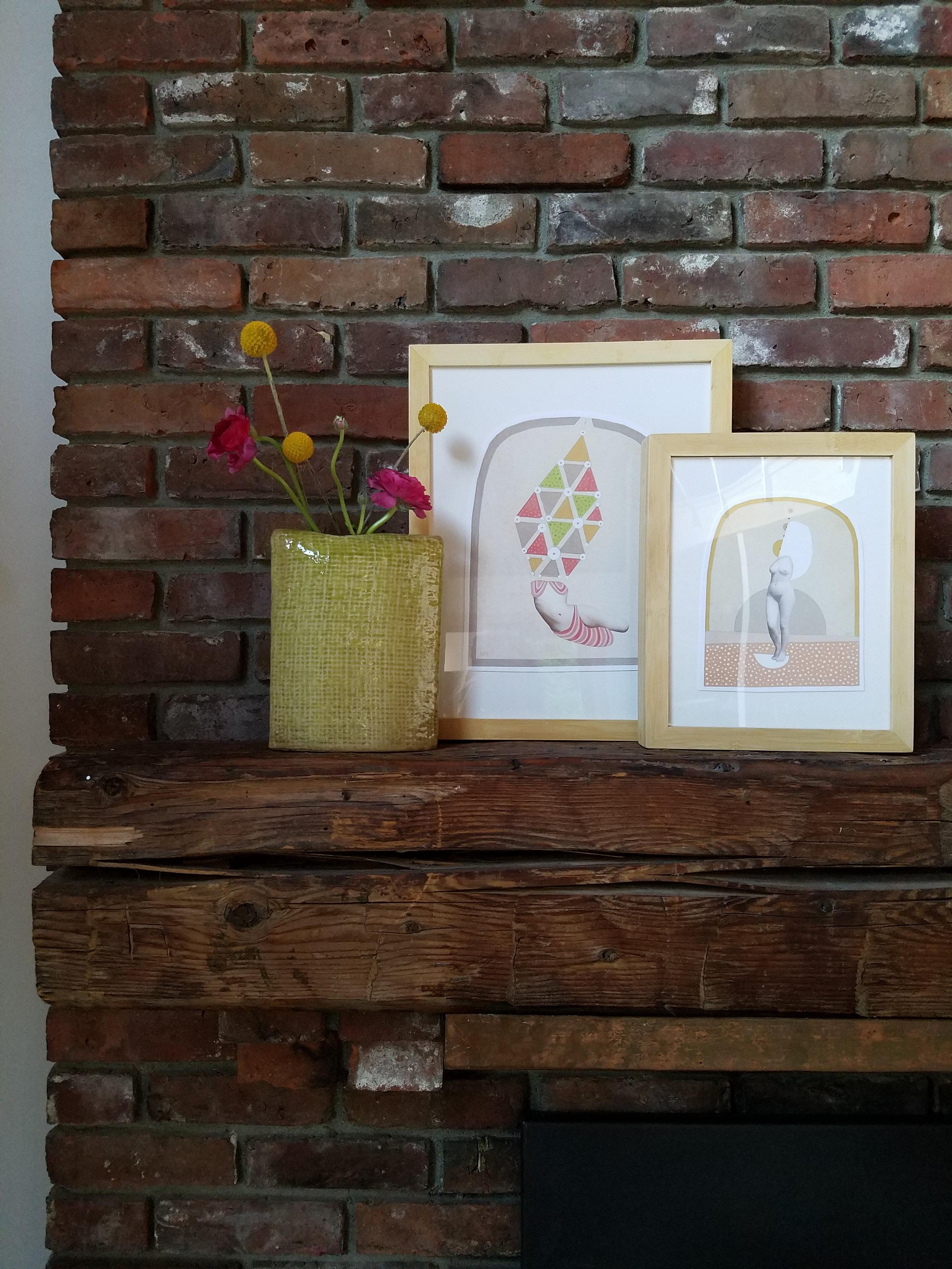 Stowe Home -Art on Mantel.jpg