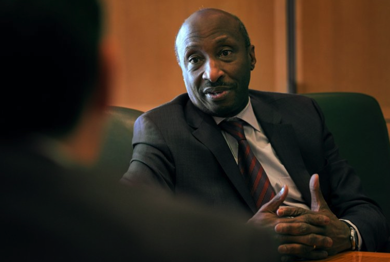"""CEO, Ken Frazier, Merck & Co., who said recently that """"corporations have a soul."""" See below."""
