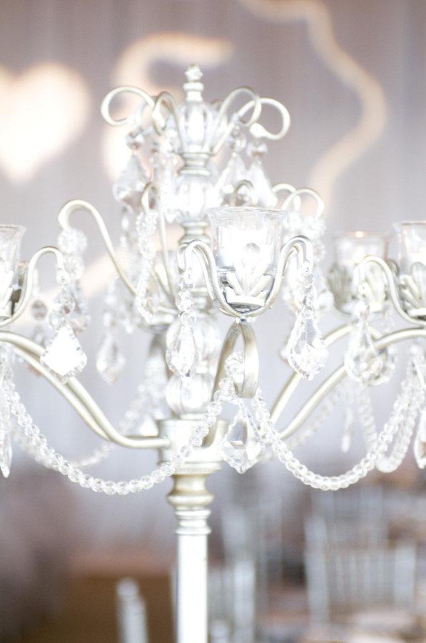 Silver Chandelier Casablanca Candelabra   Opulent Treasures