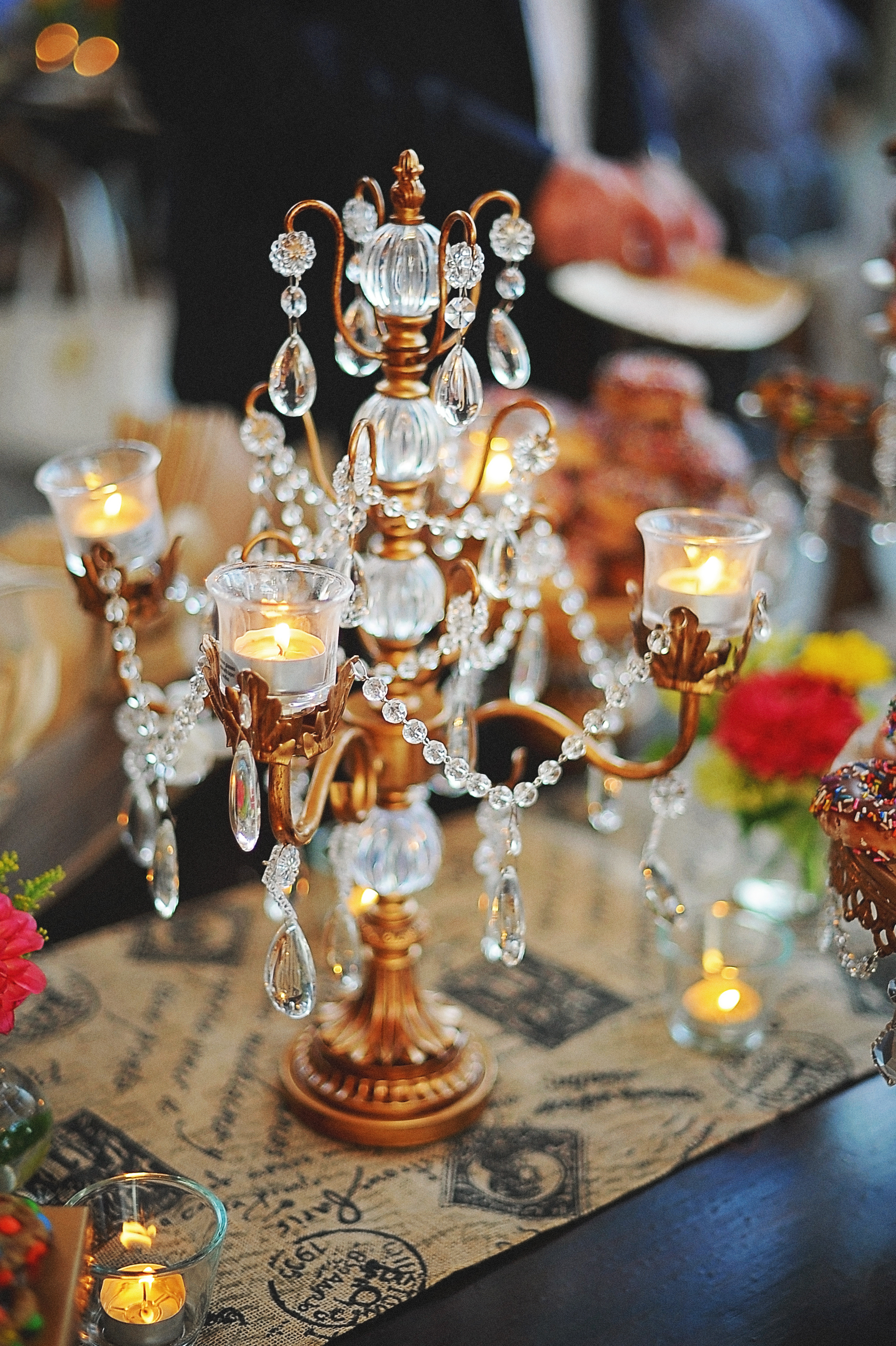 Vintage Wedding Ideas   Candelabra   Opulent Treasures