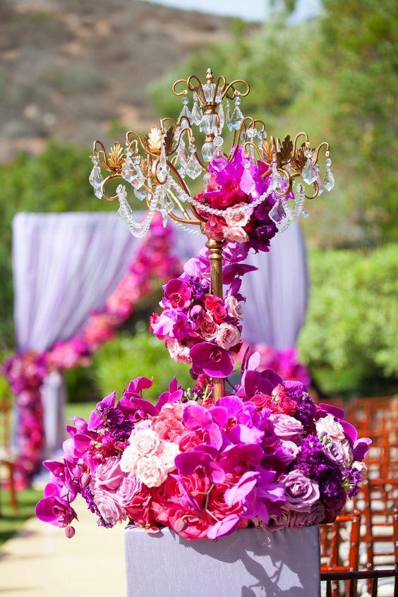 Crystal Chandelier Candelabra Casablanca   Outdoor Wedding Ideas   Opulent Treasures