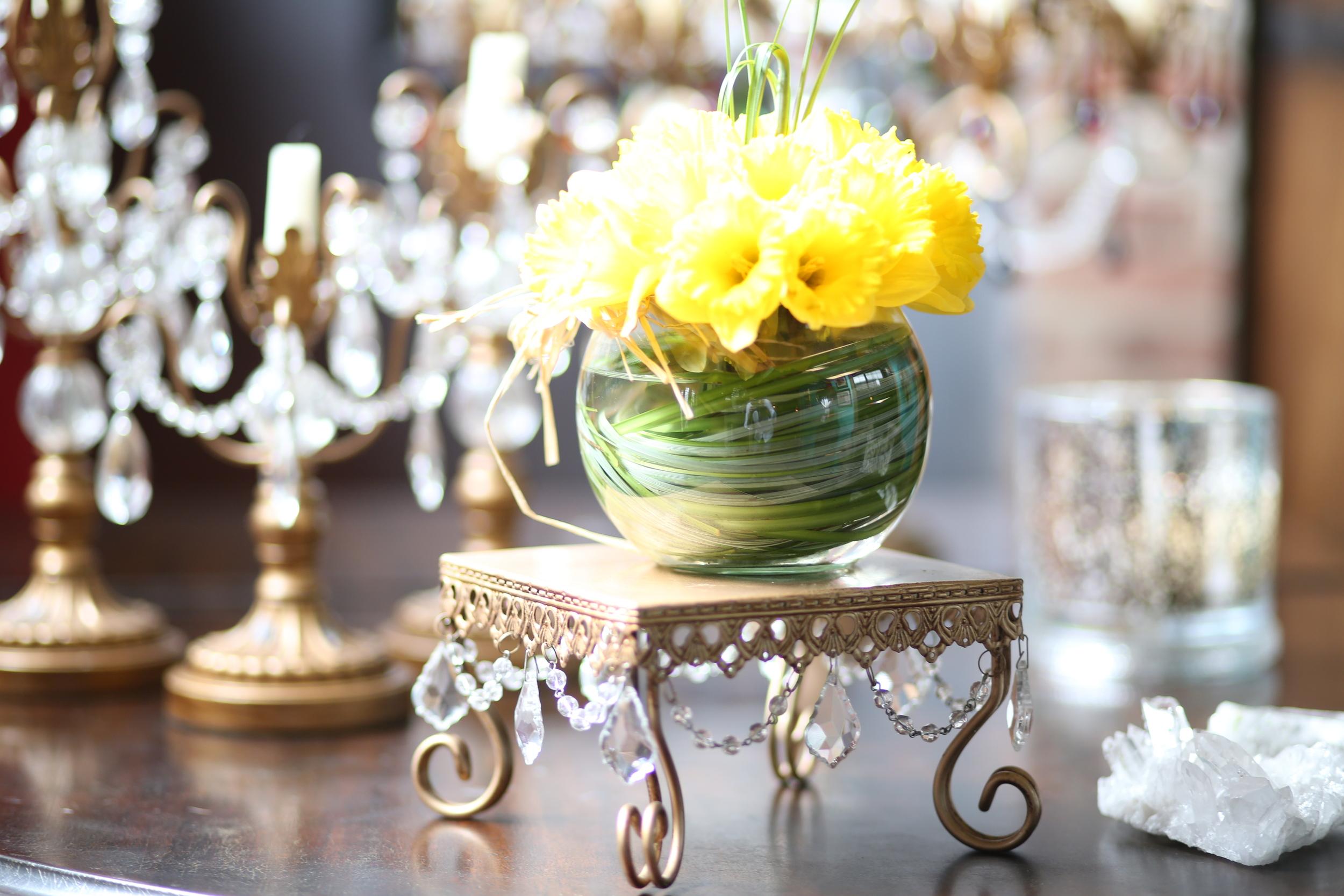 Entertaining chandelier pieces   Opulent Treasures