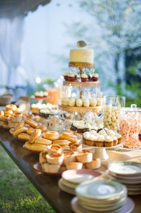 Dessert Bar   Stacked Caked Stands
